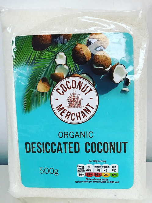 Coconut Merchant Desiccated Coconut 500g