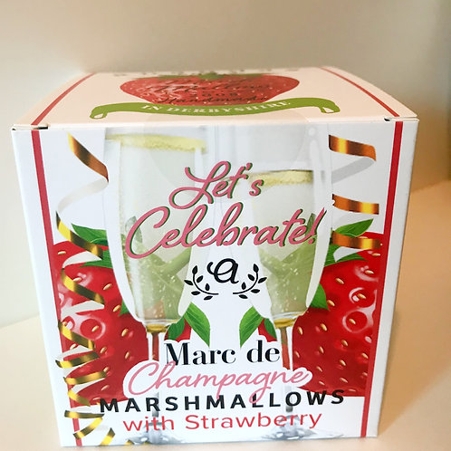 Anandas Vegan Champagne & Strawberry Marshmallows