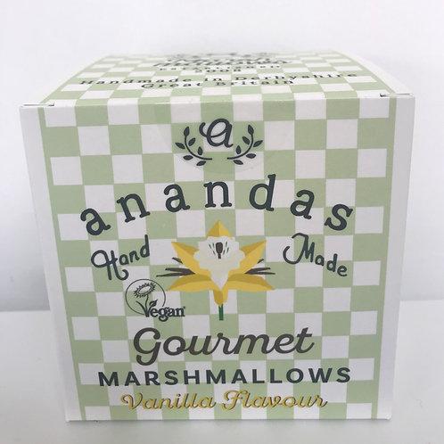 Anandas Gourmet Vanilla Marshmallows - Gelatine Free