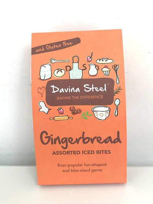 Davina Steel Assorted Gingerbread Iced Bites 100g