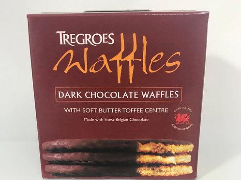 Tregroes Dark Chocolate Waffles Box