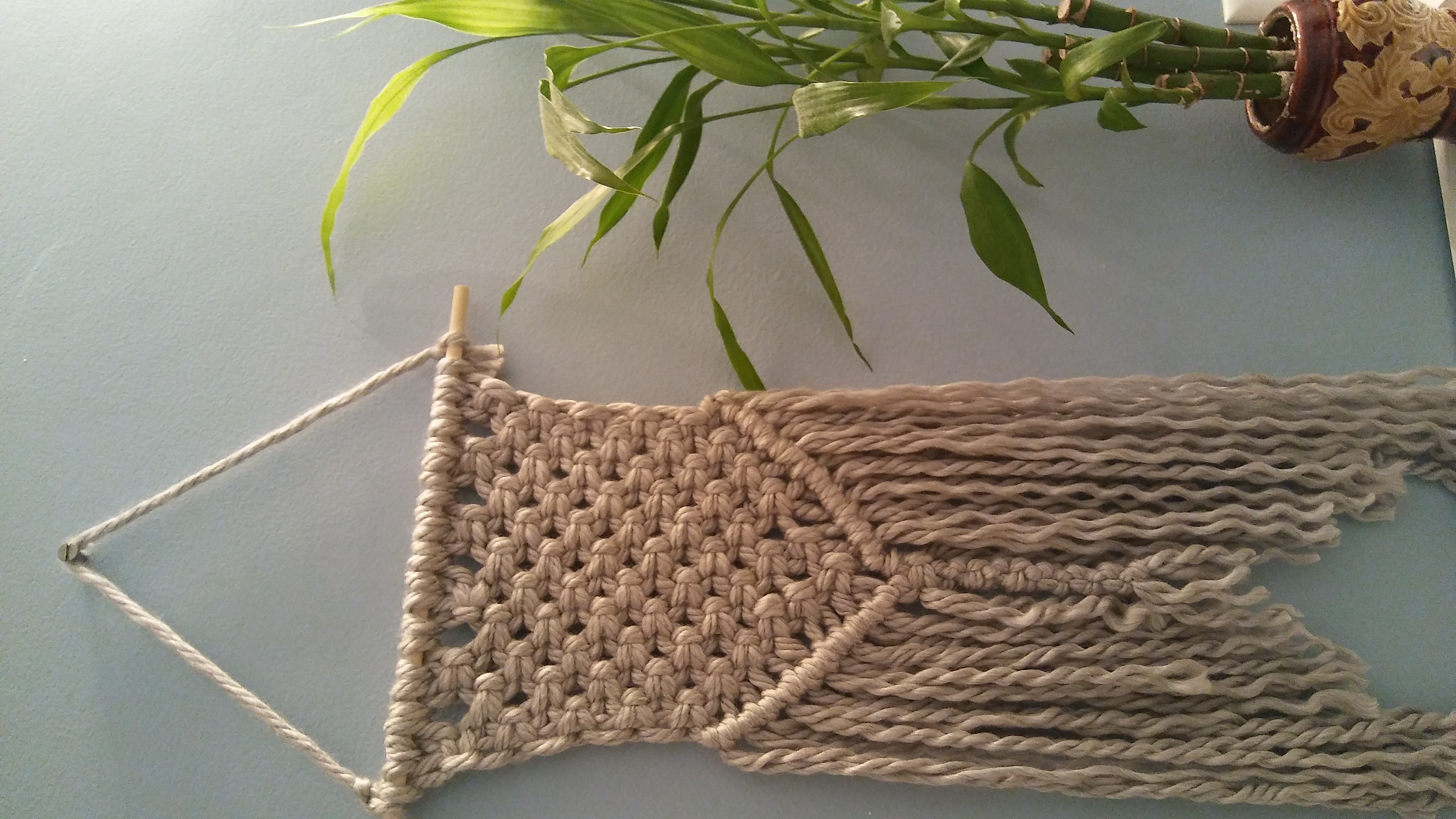 Macrame with Yarn!