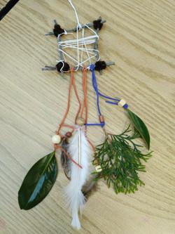 Nature Crafts- Nature Dream Catchers