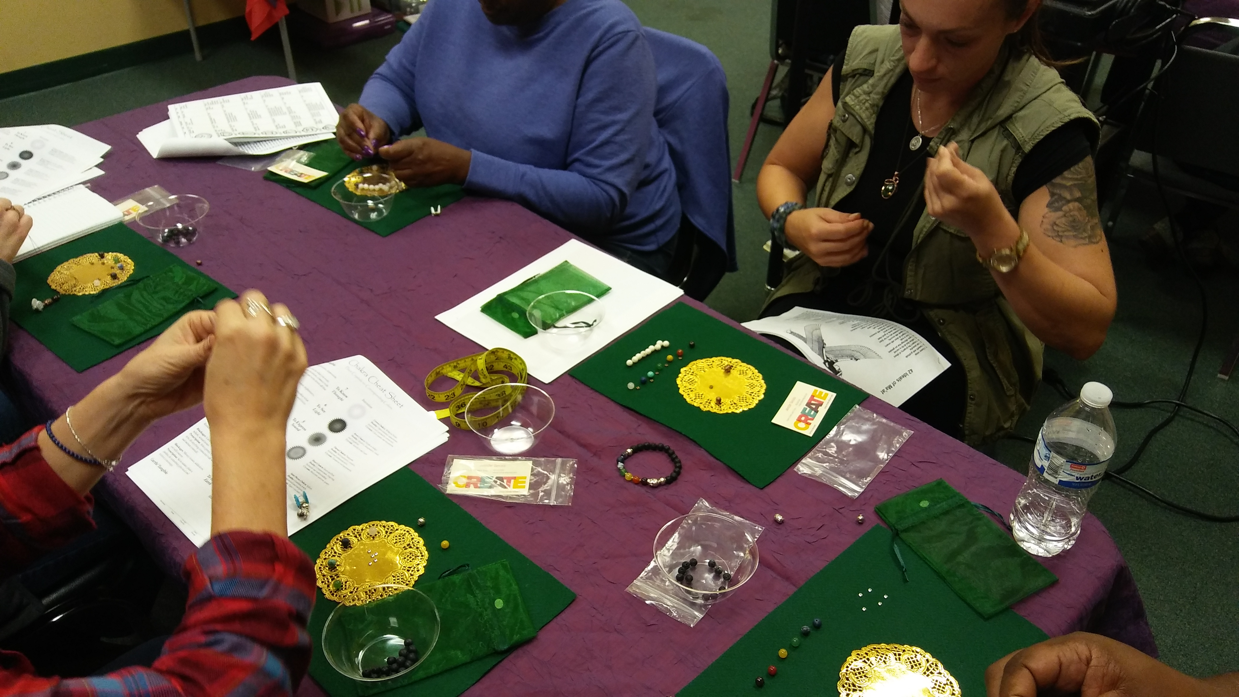 Adult Chakra Jewelry Workshop