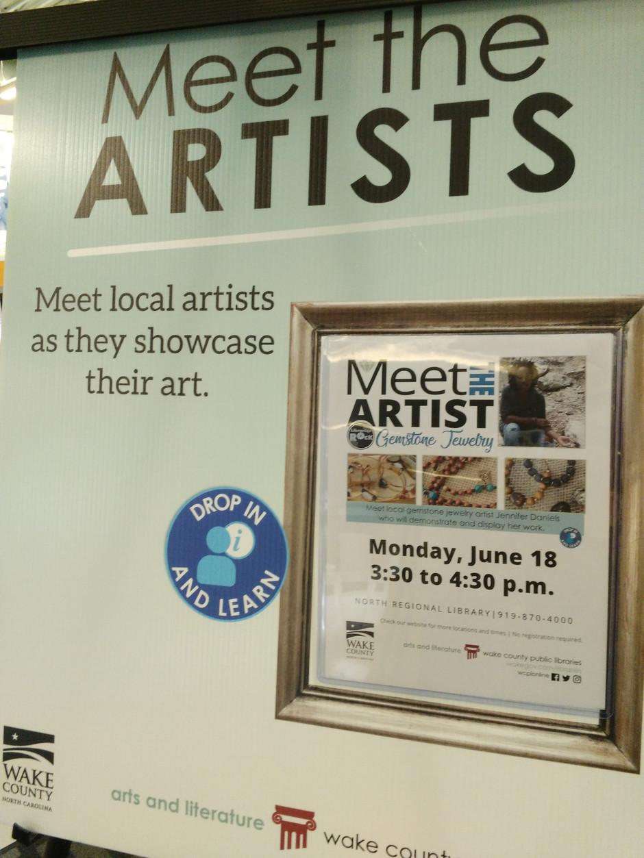 """Meet the Artist Showcase Event Locations"""