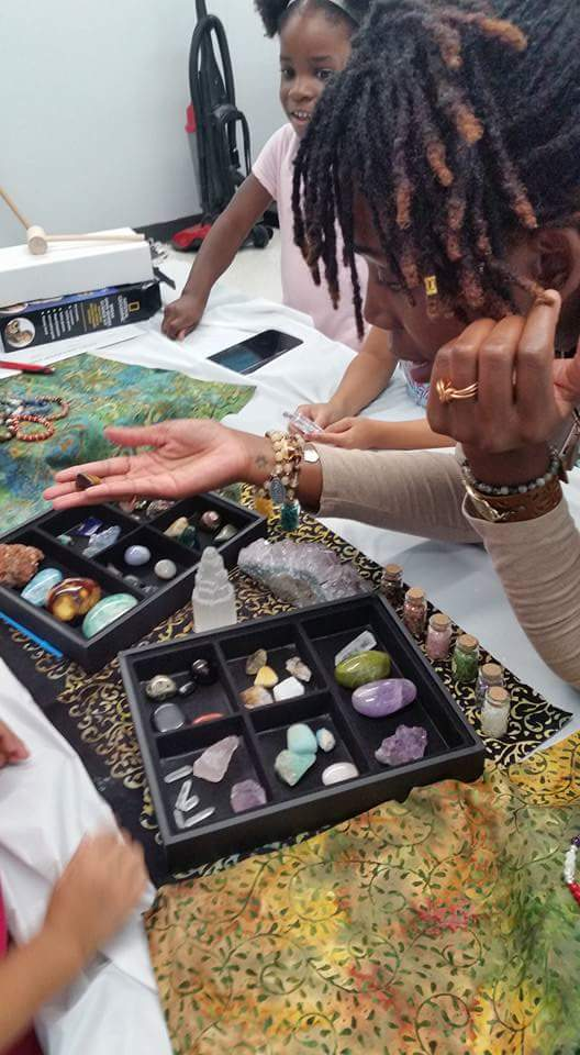 Kids Gemstone & Crystal Workshop