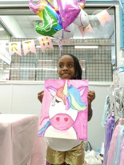 Kids Paint Parties!- Unicorns