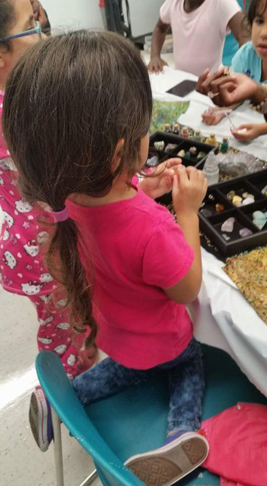 Exploring Gemstones-Kids Jewelry party