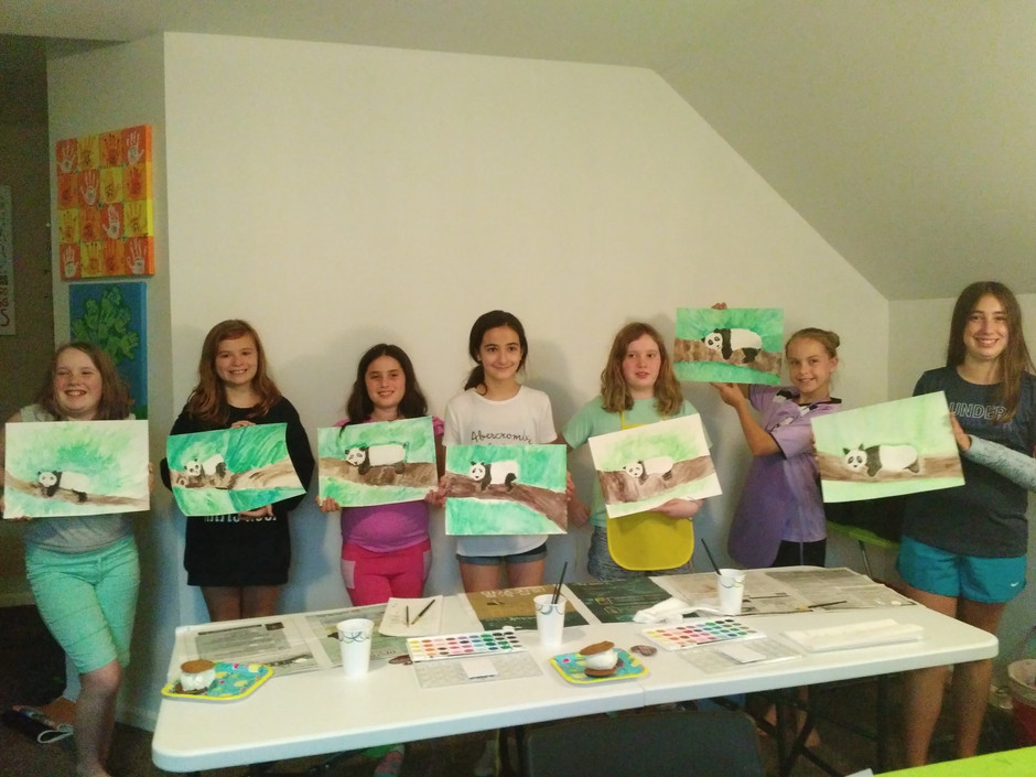 Arts & Craft Parties for Kids and Adults