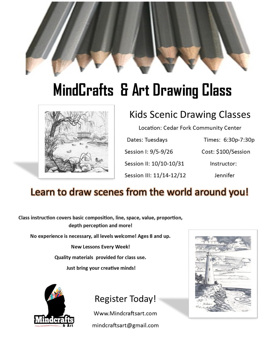 Fall Classes-4 Week Sessions and New Location! :)