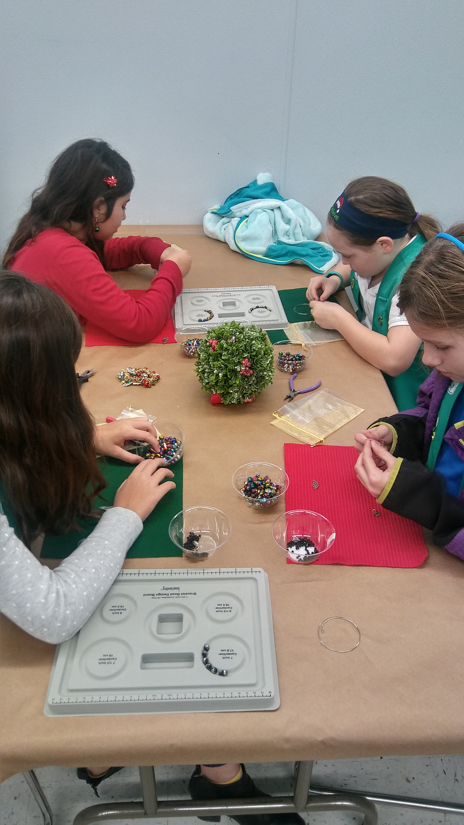 Helping Girl Scouts Earn Their Badges!