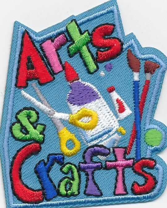 Girl Scouts Badges- Arts & Craft