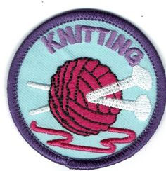 Girl Scouts Badges- Knitting& Sewing
