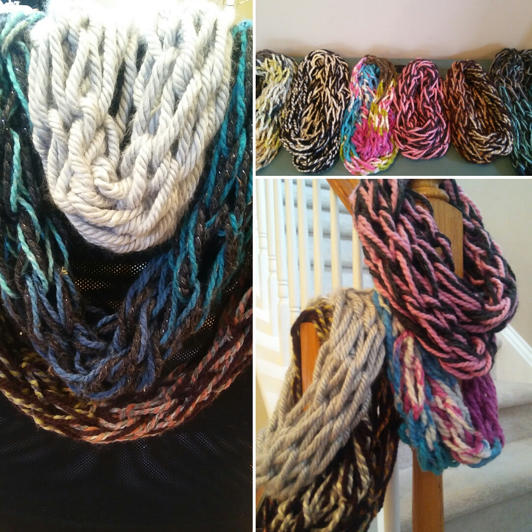 Learn easy ways to make scarves