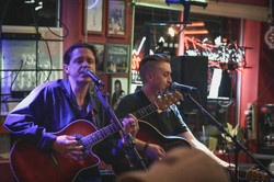 MIKE AND JACK REEVES AT PJS PUB SEDONA A