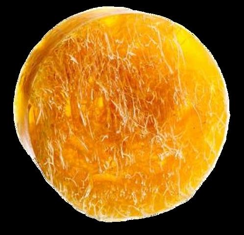 Naturseife Lemongras mit Luffa