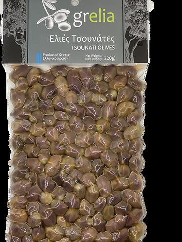 Kretische Tsounati Oliven
