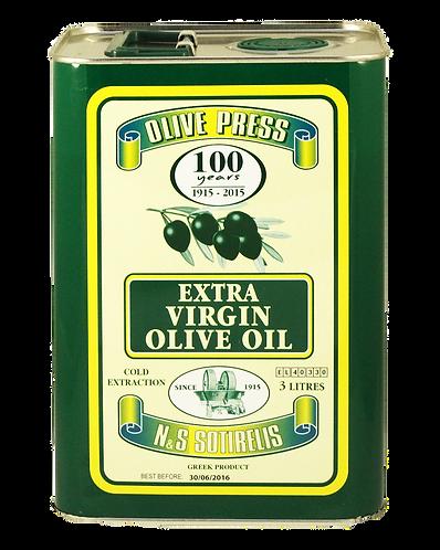 Olivenöl Extra nativ kaltgepresst fruchtig mild 3 L