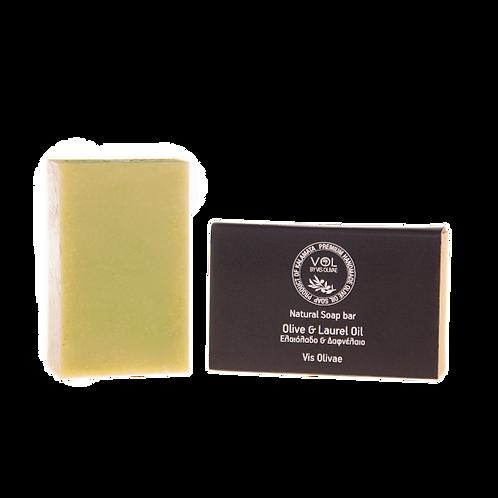 Organische Seife mit Olivenöl und Lorbeeröl für die Haare