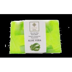 Seife aus pflanzlichem Glyzerin mit Aloe Vera