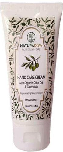 Anti-Aging Handcreme mit bio-Olivenöl und Ringelblume