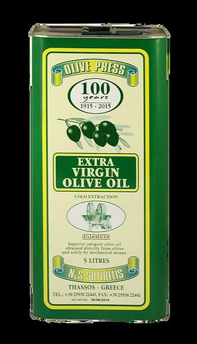 Olivenöl Extra nativ kaltgepresst fruchtig mild 5 L