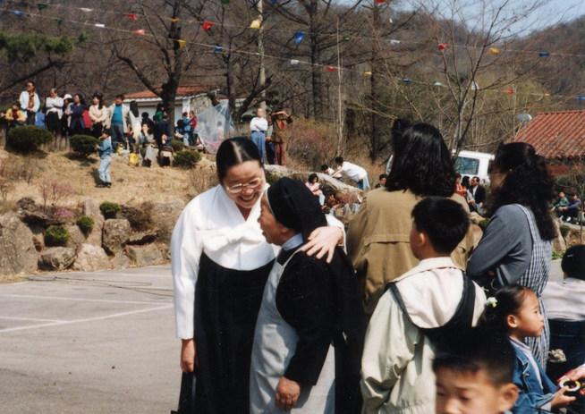 원불교 강남교당 박청수 교무