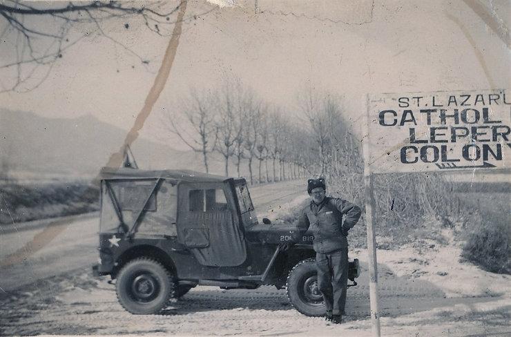 1951년 광명리에서 오전리 모락산 기슭으로 성 나자로 요양원을 이전하고