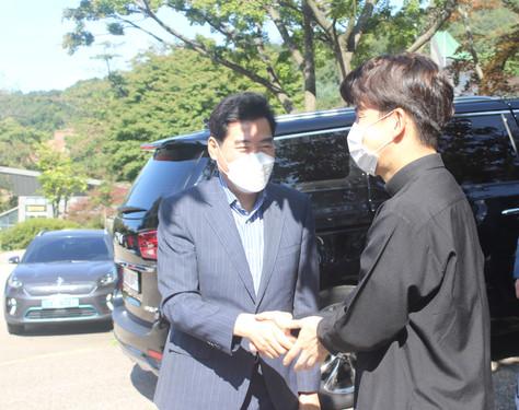 김상돈 의왕시장 마을 방문