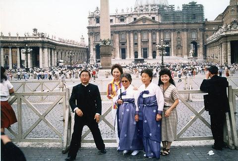 바티칸 성지순례(이경재신부님)(소노 아야꼬)(마을가족)(성베드로대성당)(