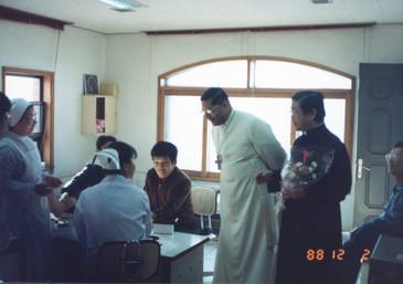 6대 이반 디아스 교황대사(1988년)