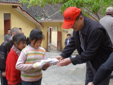 중국 사천 방문
