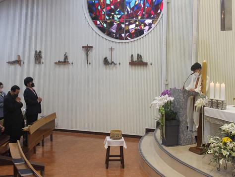 부활 대축일 미사 & 이한정 프란치스코 12대 회장 임명식