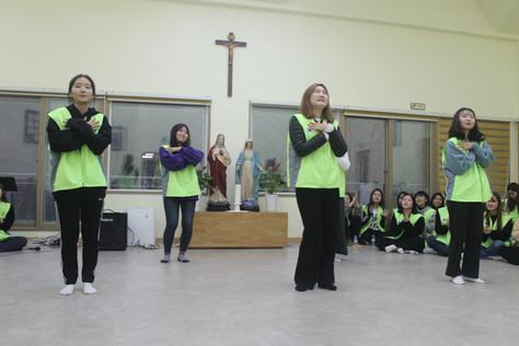 서울예장로타리클럽, 숙명로타랙트 회원 봉사