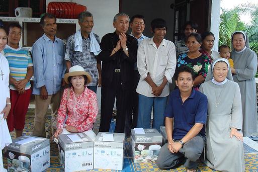 인도네시아 한센인마을 지원방문(2007년).JPG