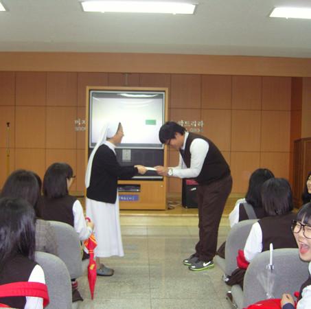 2011.04.30 영생고등학교 방문