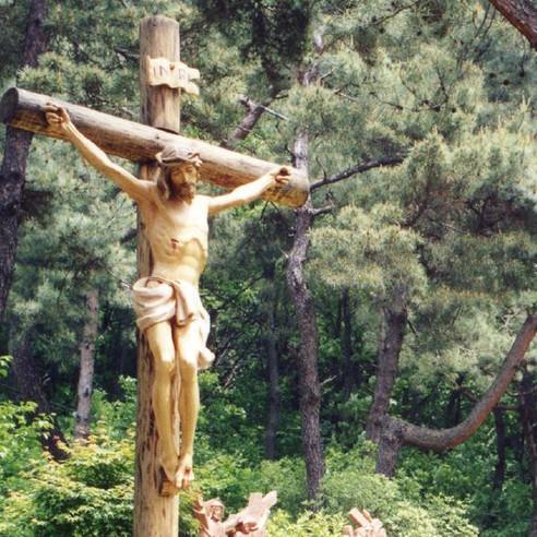 아랫마을 십자가의길