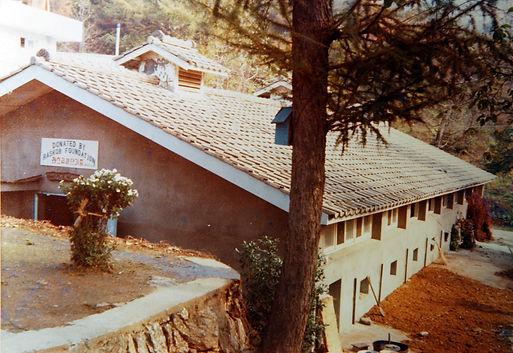 1973년 준공한 라스콥 돼지집. 돈사 건축기금과 돼지 구입자금을 기부한