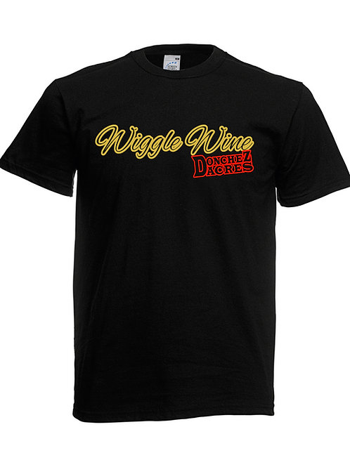 Wiggle Wine With Donchez Dacres Black - T - Shirt 3