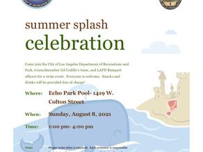 Aug. 8 - Swim Event @ Echo Park Pool
