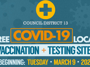 Free COVID-19 Local Vaccination & Testing Sites