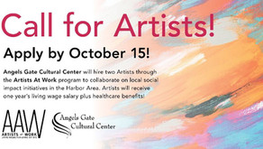 Call for Artists - Apply by Oct. 15th
