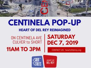 Heart of Del Rey Pop-Up on Dec 7