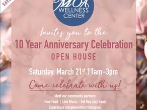 MOA Wellness Center 10-year Anniversary Celebration