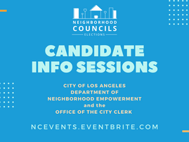 Candidate Information Sessions in January