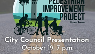 Oct. 19 Western Avenue Bicycle Pedestrian Project Meeting