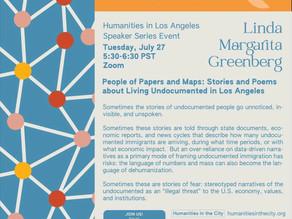 July 27 - Humanities in LA Speaker Series 5:30pm