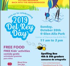 Del Rey Day is October 20, 2019