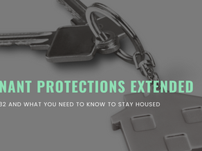 State Tenant Protections Extended!
