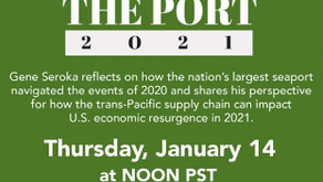 POLA's Annual State of the Port Address - January 14, 2021 12:00pm